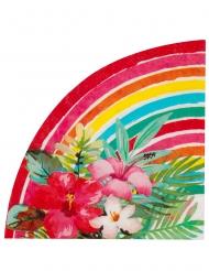 20 Serviettes papier Aloha 33 cm