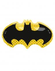 Ballon en aluminium géant Batman™ bat signal 76 x 43 cm