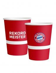 8 Gobelets en carton FC Bayern Munich™ 250 ml