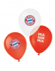 6 Ballons en latex FC Bayern Munich™ 27 cm