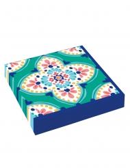 16 Serviettes en papier Boho Vibes 33 x 33 cm