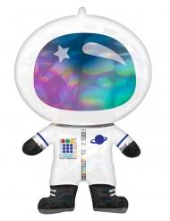 Ballon aluminium géant astronaute 76 x 50 cm