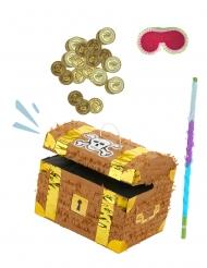 Kit piñata Coffre au trésor