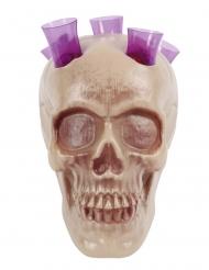 Crâne porte shooter 20 cm