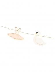 Guirlande ballerine et cygne 126 cm