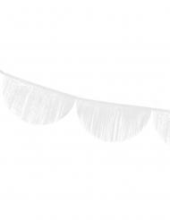 Guirlande festonnée à franges blanches 3 m
