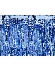 Rideau de fils bleu nuit 90 x 250 cm