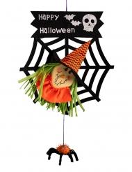 Décoration sorcière Halloween 50 cm