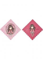 8 Serviettes en papier Ladybird Santoro™ 33 x 33 cm