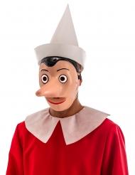 Masque plastique Pinocchio™ avec nez détachable adulte