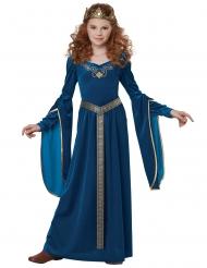 Déguisement princesse médiévale velours fille