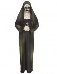 Déguisement nonne possédée adulte