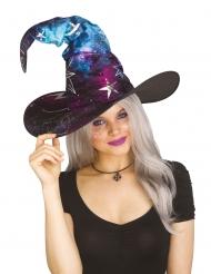 Chapeau de sorcière cosmic adulte