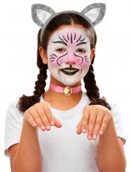 Kit maquillage et accessoires chat enfant