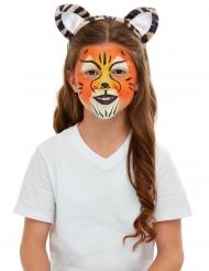 Kit maquillage et accessoires tigre enfant