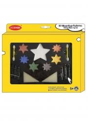 Kit maquillage paillettes étoiles avec accessoires