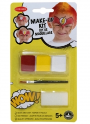 Kit maquillage super héros avec pinceau et éponge enfant