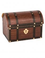 8 Contenants coffre au trésor Pirate 8 x 5,5 x 6 cm