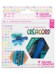Kit Créacord® bracelets Océan 11 x 13 cm