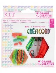 Kit Créacord® bracelets Tropiques 11 x 13 cm