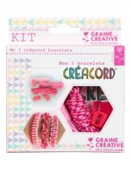 Kit Créacord® bracelets Amour 11 x 13 cm