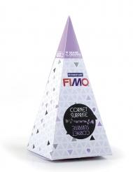 Cornet surprise violet FIMO® Lune 17 x 7 cm