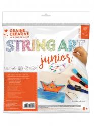Kit string art junior Thème mer 22 x 26,5 cm