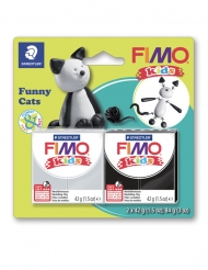 Kit pâte FIMO® Chat