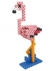 Kit perles à repasser 3D Flamant rose