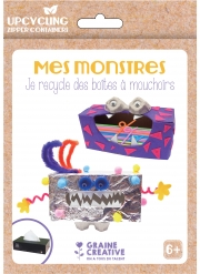 Kit upcycling je recycle des boîtes de mouchoirs