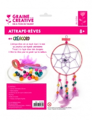 Kit attrape-rêves Créacord® Multicolore