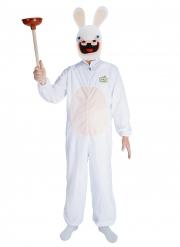 Déguisement avec masque Lapins Cretins™ adulte