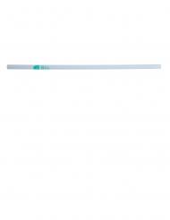 150 Pailles en PLA blanc 21 cm