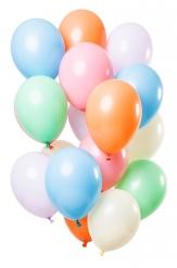 12 Ballons en latex pastel 30 cm