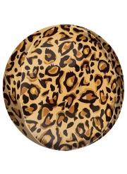 Ballon imprimé léopard 38 cm