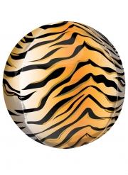 Ballon imprimé tigre 38 cm