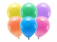 10 Ballons en latex pastel multicolore 26 cm