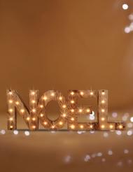 Décoration lettres lumineuses Noël 41 LED 44 cm