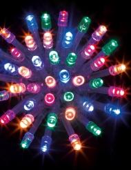 Guirlande extérieure multicolore 100 LED 10 m
