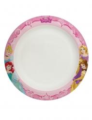 8 Assiettes en carton home compostable Dreaming Princess™ 24 cm
