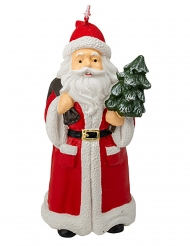 Bougie Père Noël 13,5 x 6,5 cm