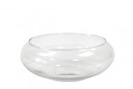 Coupelle de décoration en verre 20 x 7,5 cm