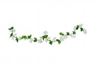 Guirlande de fleurs de cerisier blanche 220 cm