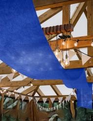 Tenture de mariage bleu roi 80 cm x 25 m