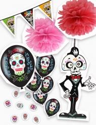 Kit décorations Halloween Dia de los Muertos
