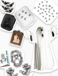 Kit décorations Halloween Manoir hanté
