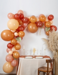 Kit arche de 70 ballons pampa