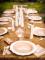 12 Assiettes en carton anniversaire kraft & blanc 23 cm-2