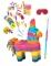 Kit piñata maxi Âne multicolore