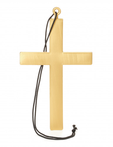 Collier croix de moine or
